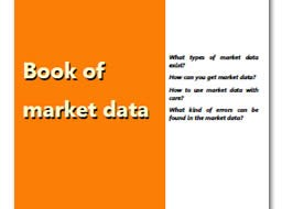Book of market data